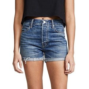 NWT MOTHER The Proper Jean Shorts